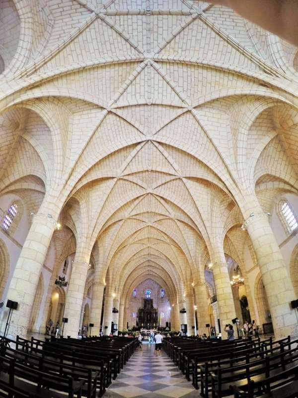 The cathedral is the only Gothic style cathedral in the Americas. Can you say awe-inspiring?!?!?!