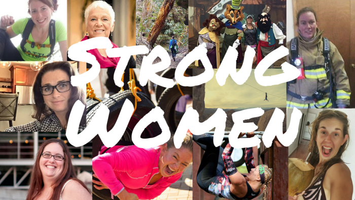 Explorer Chick Strong Women Collage