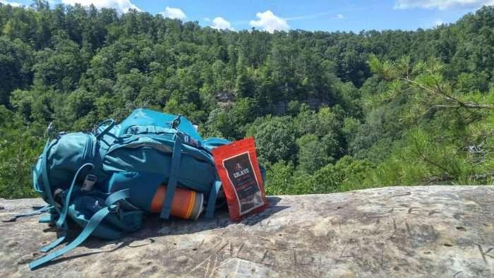 Krave Jerky Backpacking