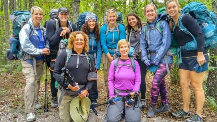 Explorer Chick RRG Oct 1-2 Trailhead group