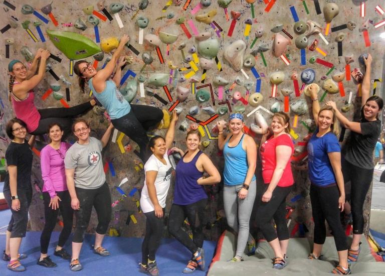 Indoor Bouldering in Cincy