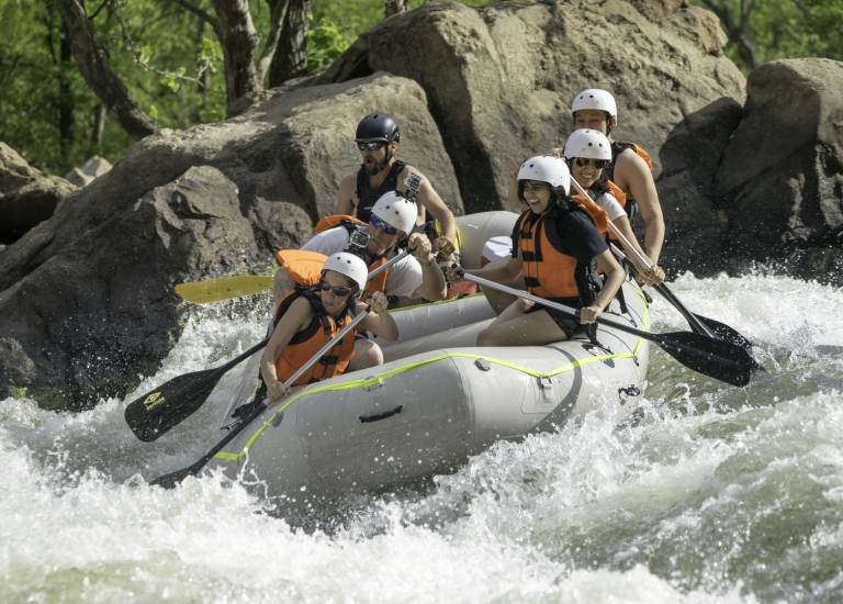 Whitewater Rafting on the James River