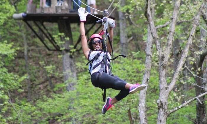 Virginia Mountains Zip Lining Adventure