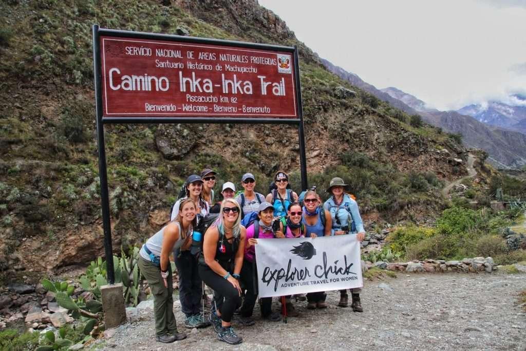 start of the inca trail hike