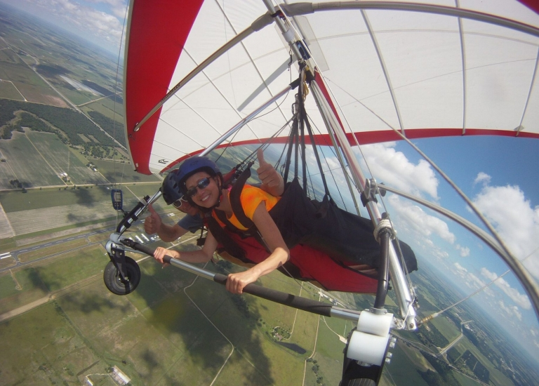 Hang Gliding in Houston