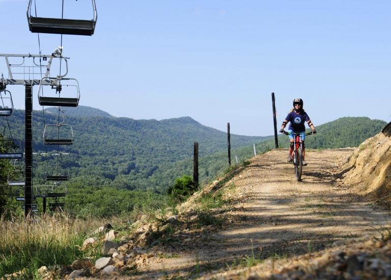 Downhill Mountain Biking in Virginia