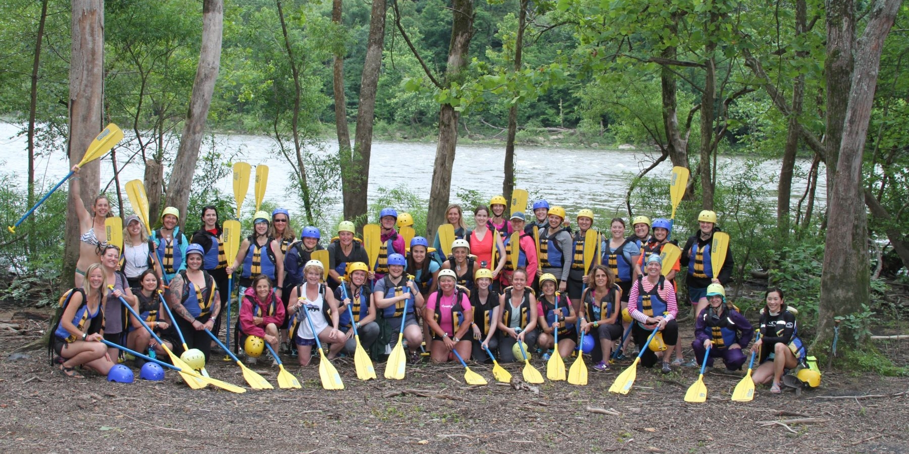 Women Only White Water Rafting Explorer Chick