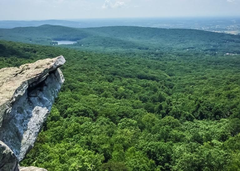 Maryland Appalachian Trail Trek & Rock Climb