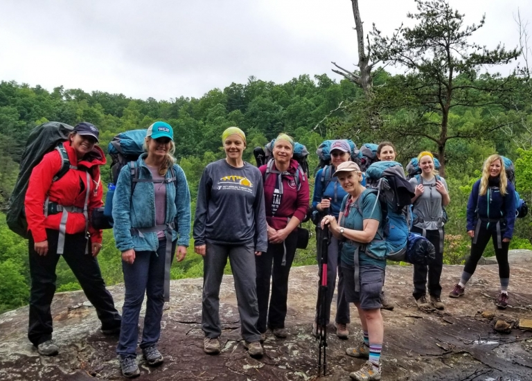 Red River Gorge Hiking + Backpack Workshop