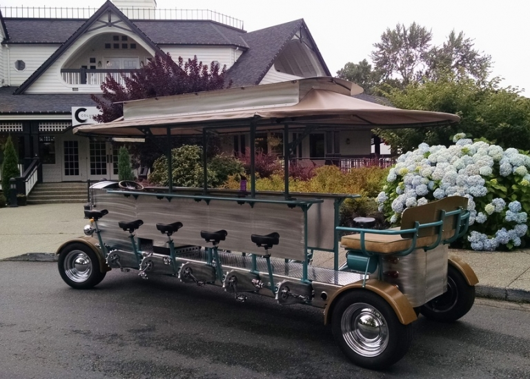 Woodinville WA Winery Tour by Pedal Wagon