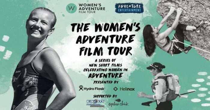 The Women's Adventure Film Tour is coming 🍿 Grab your popcorn