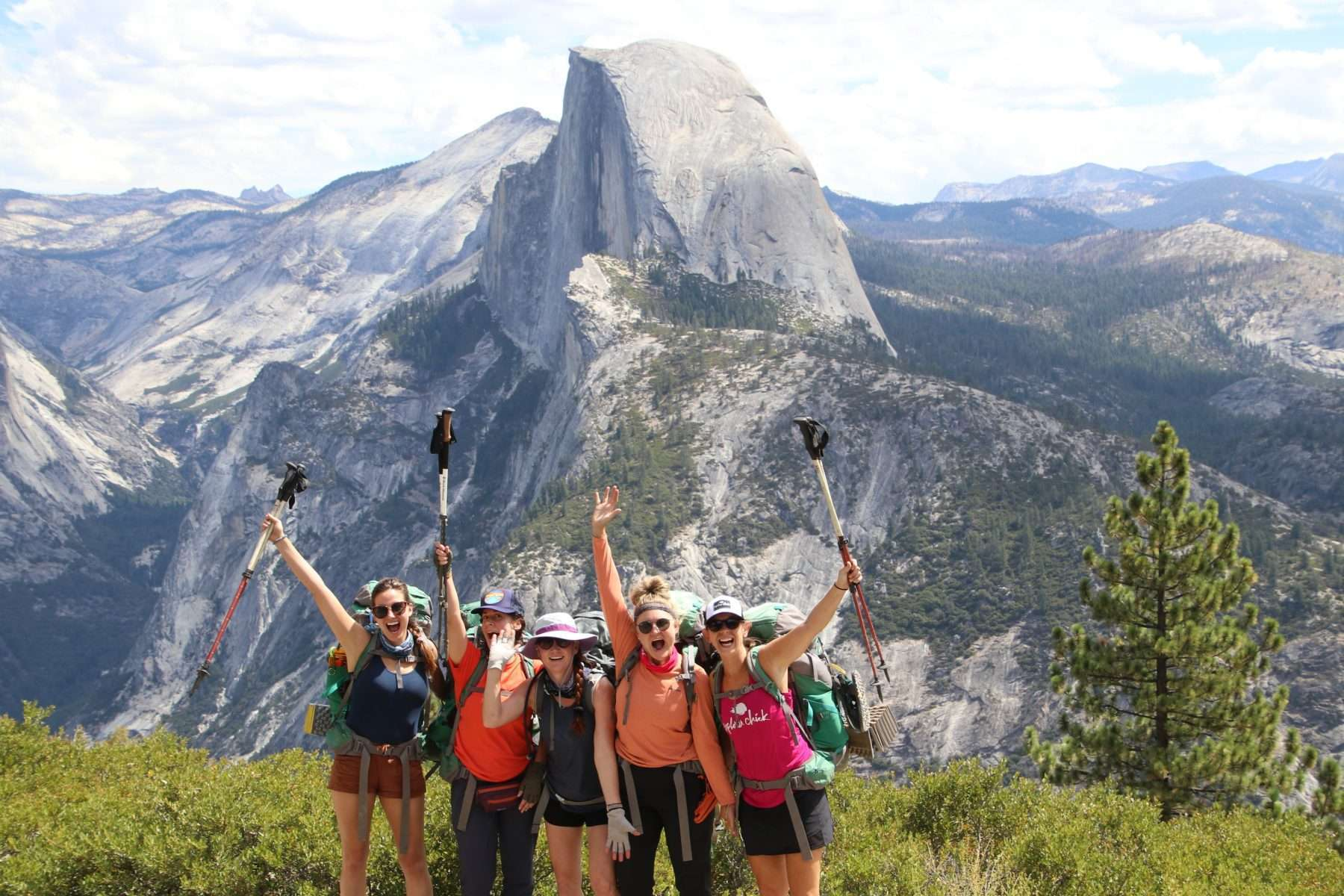 Yosemite Half Dome Hike + Backpacking