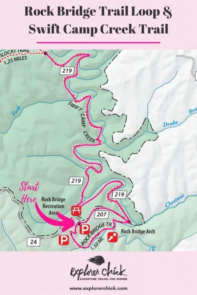 rock bridge trail loop