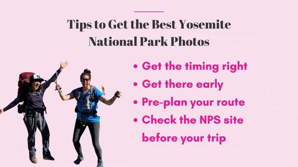 best yosemite national park photo tips