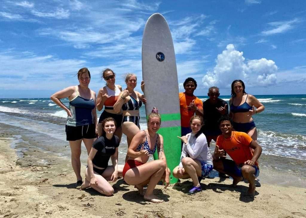 surf chicks explorer chick trip